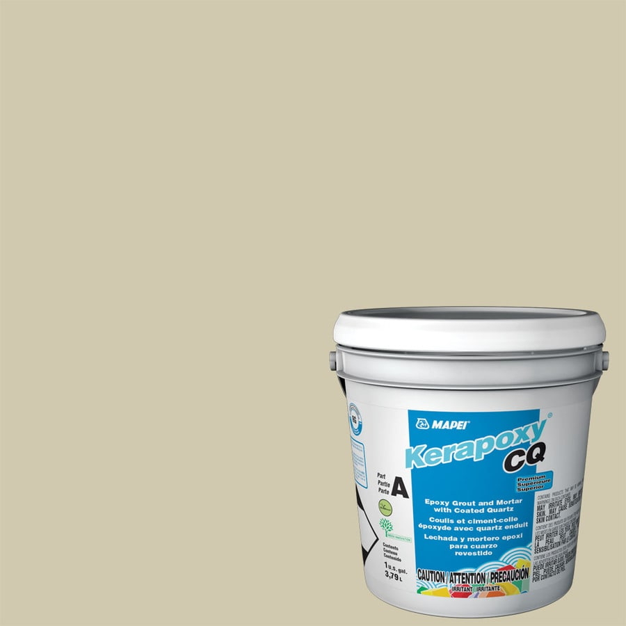 MAPEI Kerapoxy Cq 1-Gallon Straw Sanded Epoxy Grout