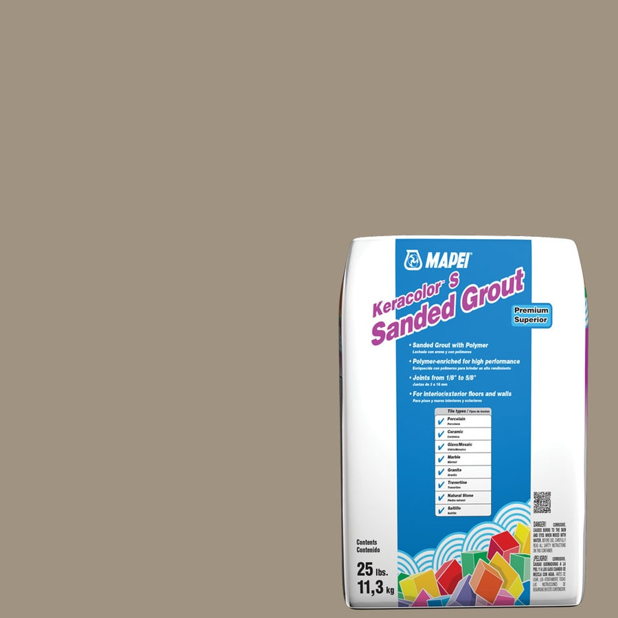 MAPEI Keracolor S 25-lb Driftwood Sanded Powder Grout