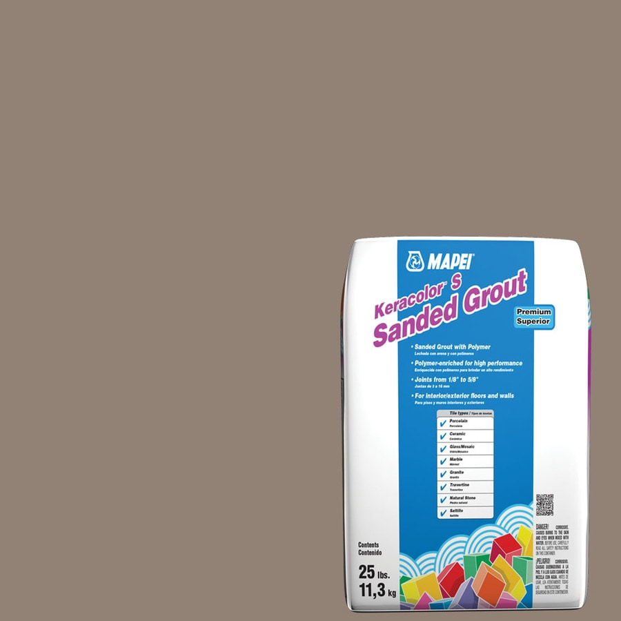 MAPEI Keracolor S 25-lb Walnut Sanded Powder Grout