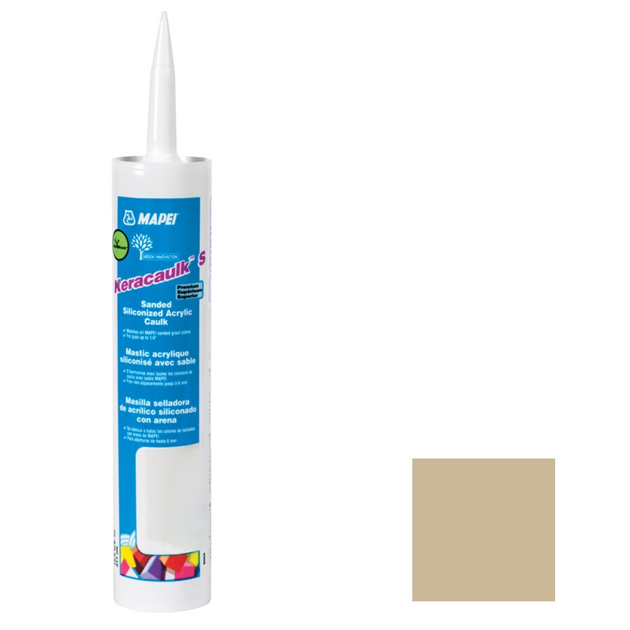 MAPEI Keracaulk S 10.5-oz Harvest Sanded Paintable Caulk