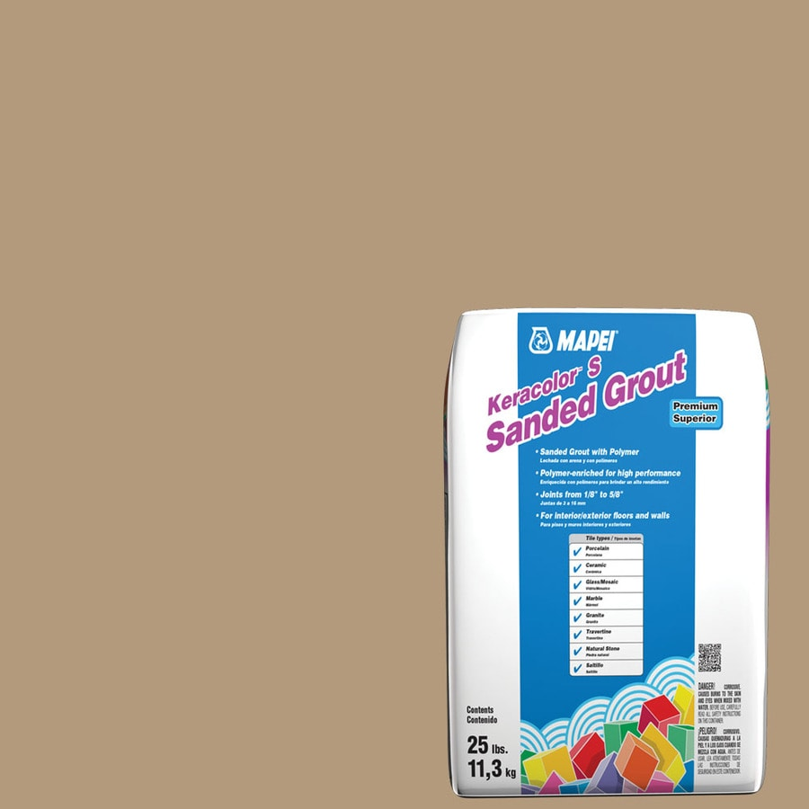 MAPEI Keracolor S 25-lb Bamboo Sanded Powder Grout