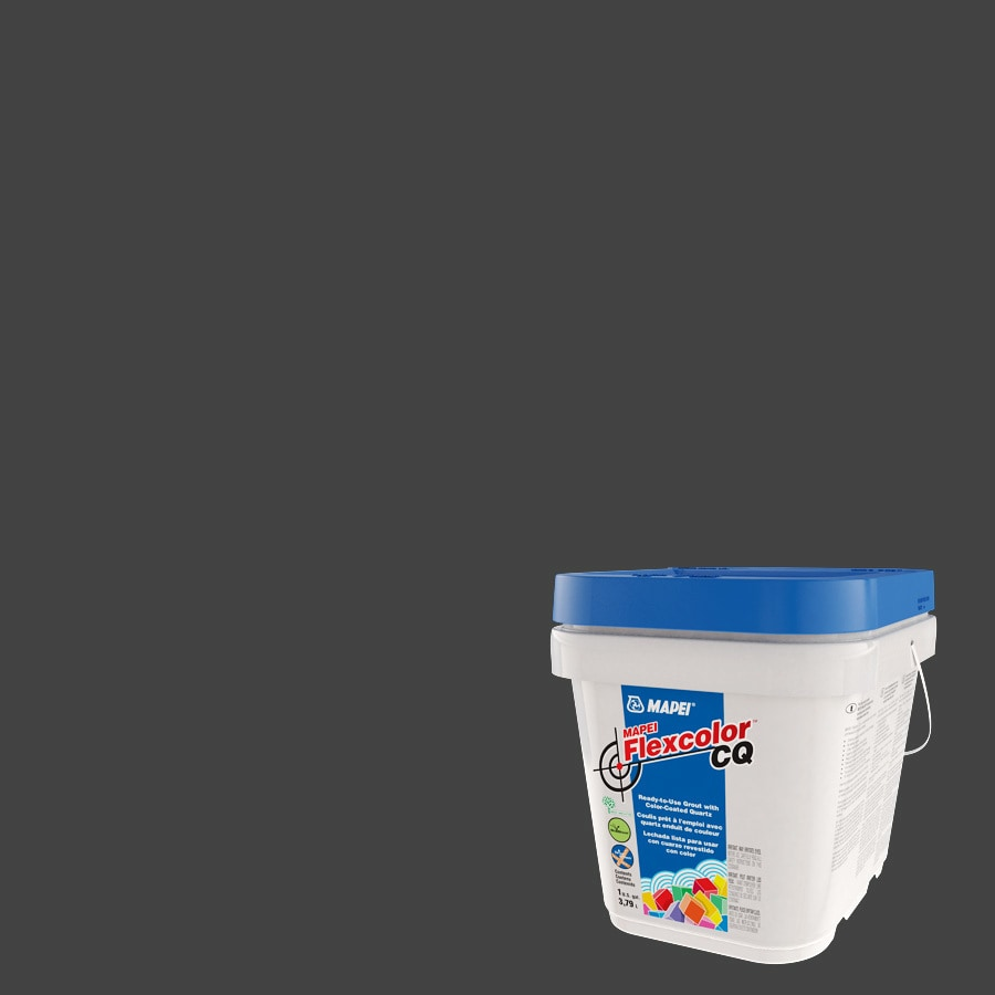Mapei Flexcolor Cq 1 Gallon Black Acrylic Premix Grout At