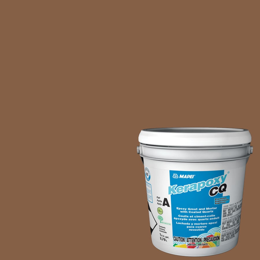 MAPEI Kerapoxy CQ 1-Gallon Pecan Sanded Epoxy Grout