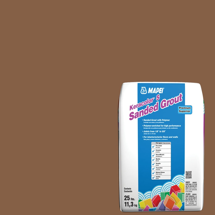 MAPEI 25-lb Pecan Sanded Powder Grout