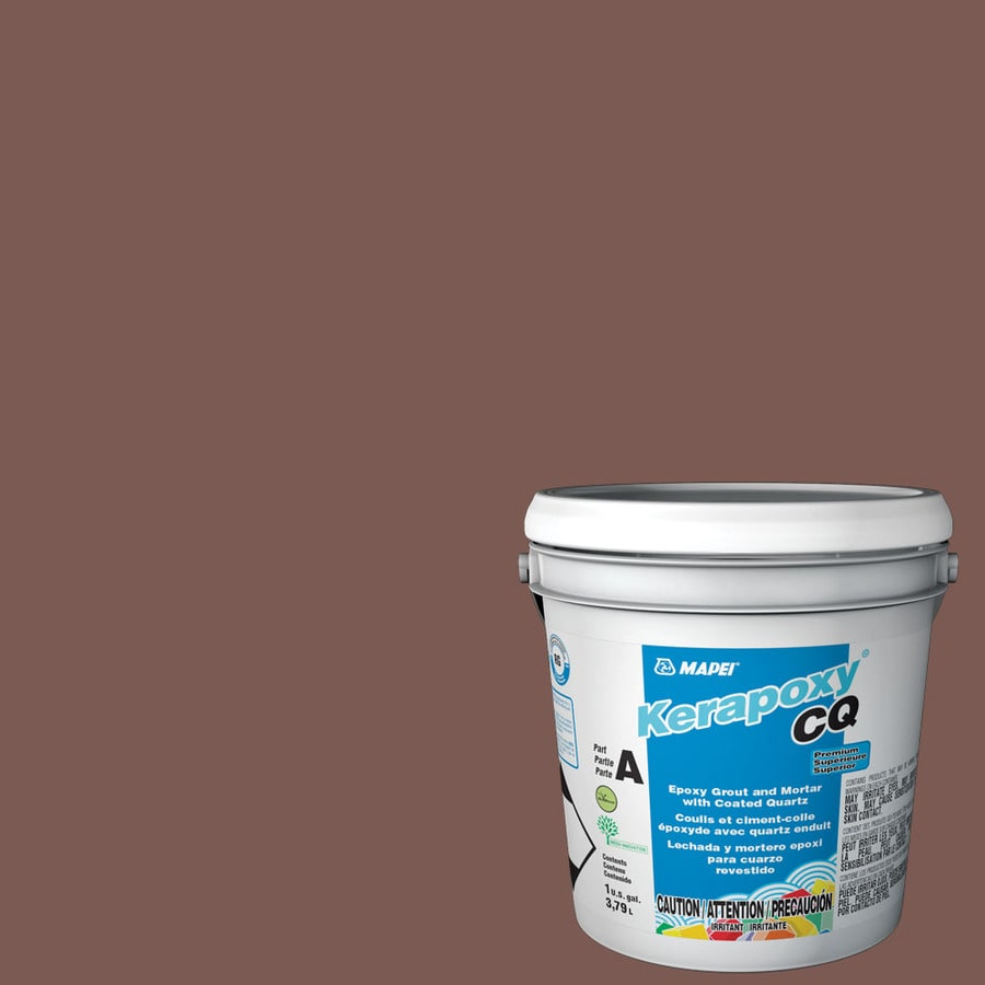 MAPEI Kerapoxy CQ 1-Gallon Brick Red Sanded Epoxy Grout