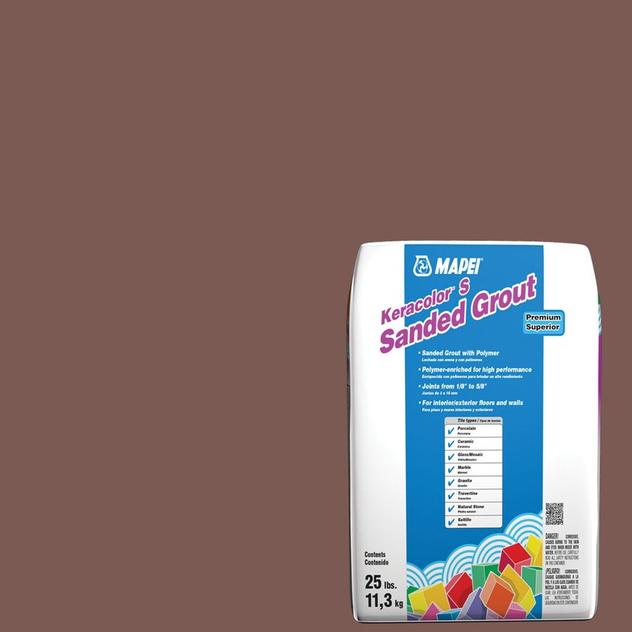 MAPEI 25-lb Brick Red Sanded Powder Grout