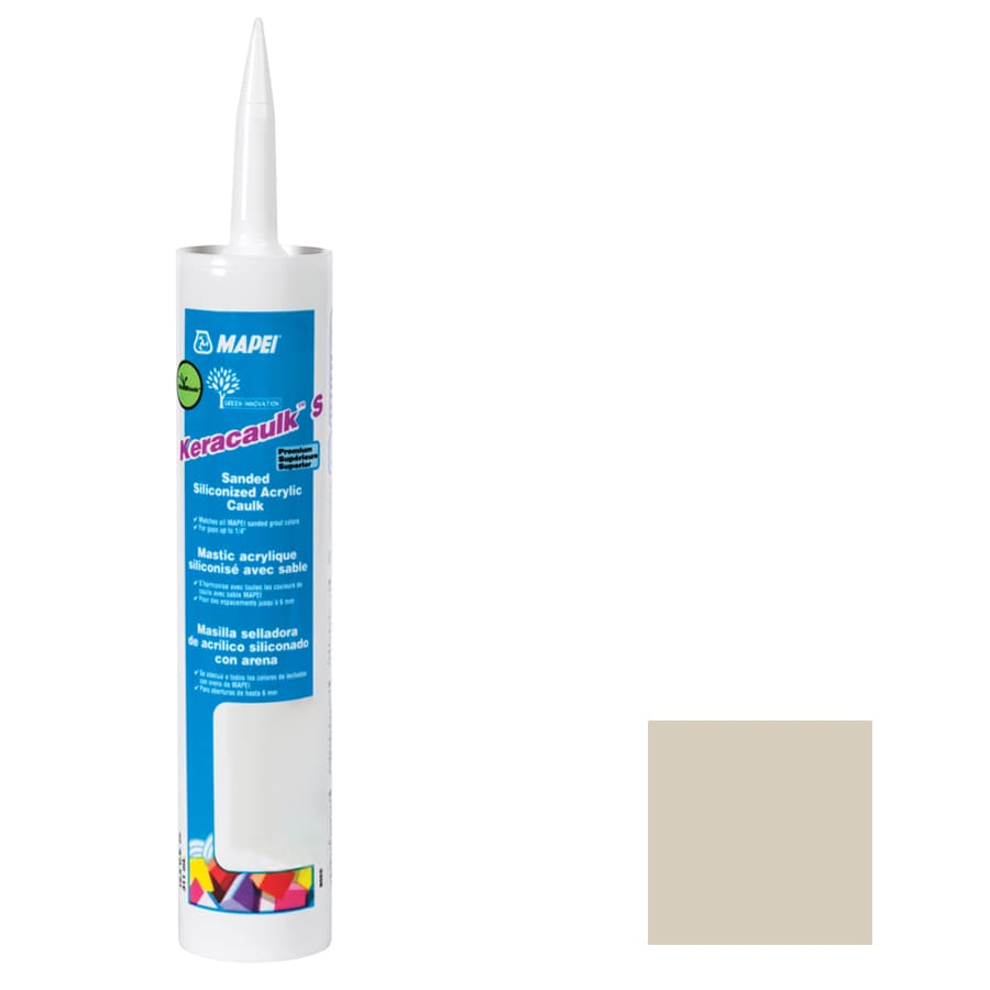 MAPEI Keracaulk S-Pack 10.5-oz Biscuit Sanded Paintable Caulk