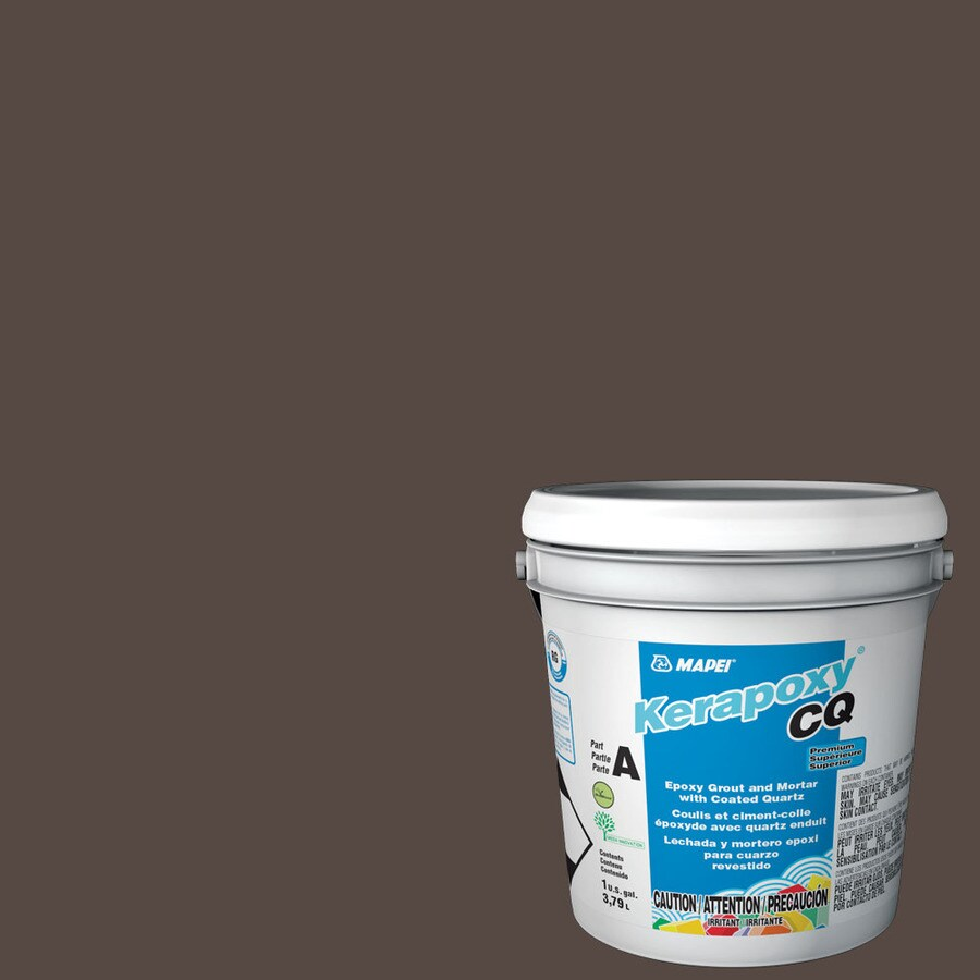 MAPEI Kerapoxy CQ 1-Gallon Truffle Sanded Epoxy Grout
