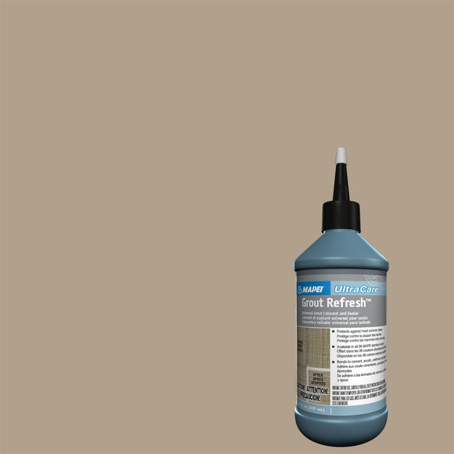 MAPEI Grout Refresh 8-fl oz Navajo Brown Ceramic/Porcelain Tile Grout Sealer Squeeze Bottle