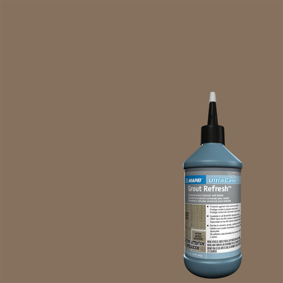 Shop Mapei Grout Refresh 8 Fl Oz Mocha Ceramicporcelain Tile Grout