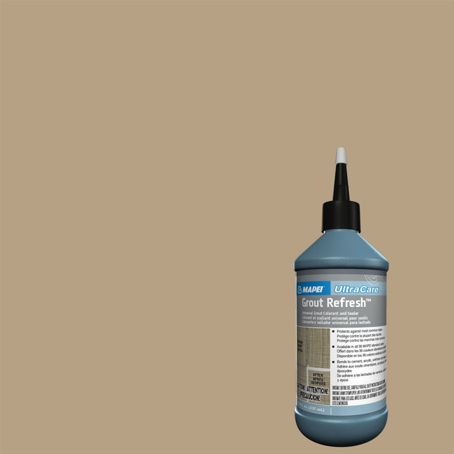 MAPEI Grout Refresh 8-fl oz Pale Umber Ceramic/Porcelain Tile Grout Sealer Squeeze Bottle