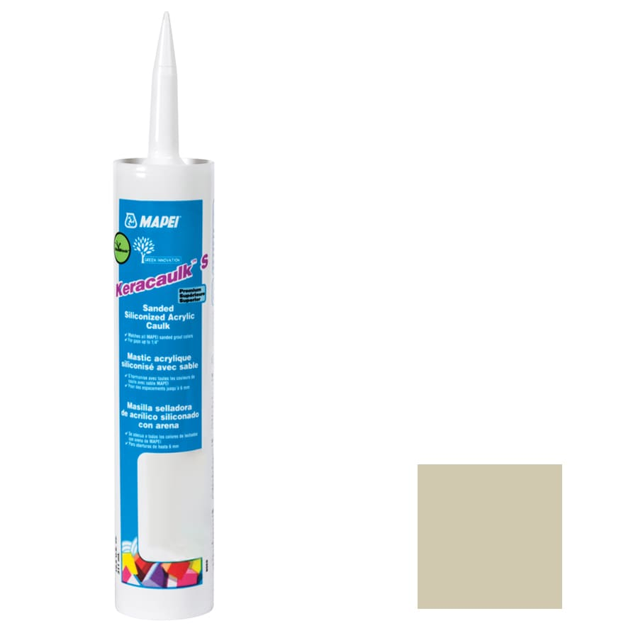 MAPEI Keracaulk S 10.5-oz Straw Sanded Paintable Specialty Caulk