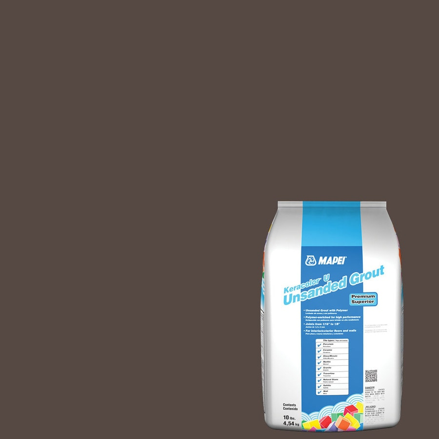 MAPEI 10-lb Truffle Unsanded Powder Grout