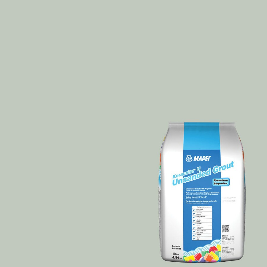 MAPEI 10-lb Mint Unsanded Powder Grout