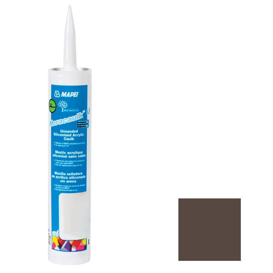 MAPEI Keracaulk U-Pack 10.5-oz Chocolate  Paintable Caulk