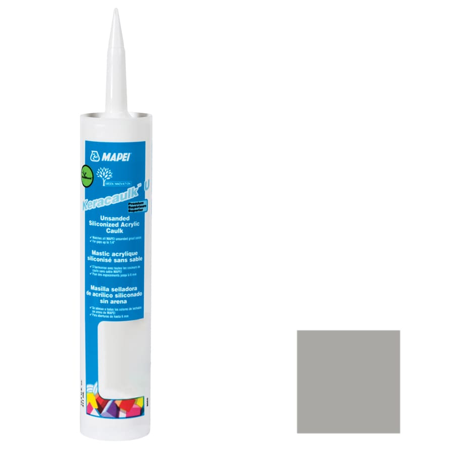 MAPEI Keracaulk U 10.5-oz Silver Paintable Specialty Caulk