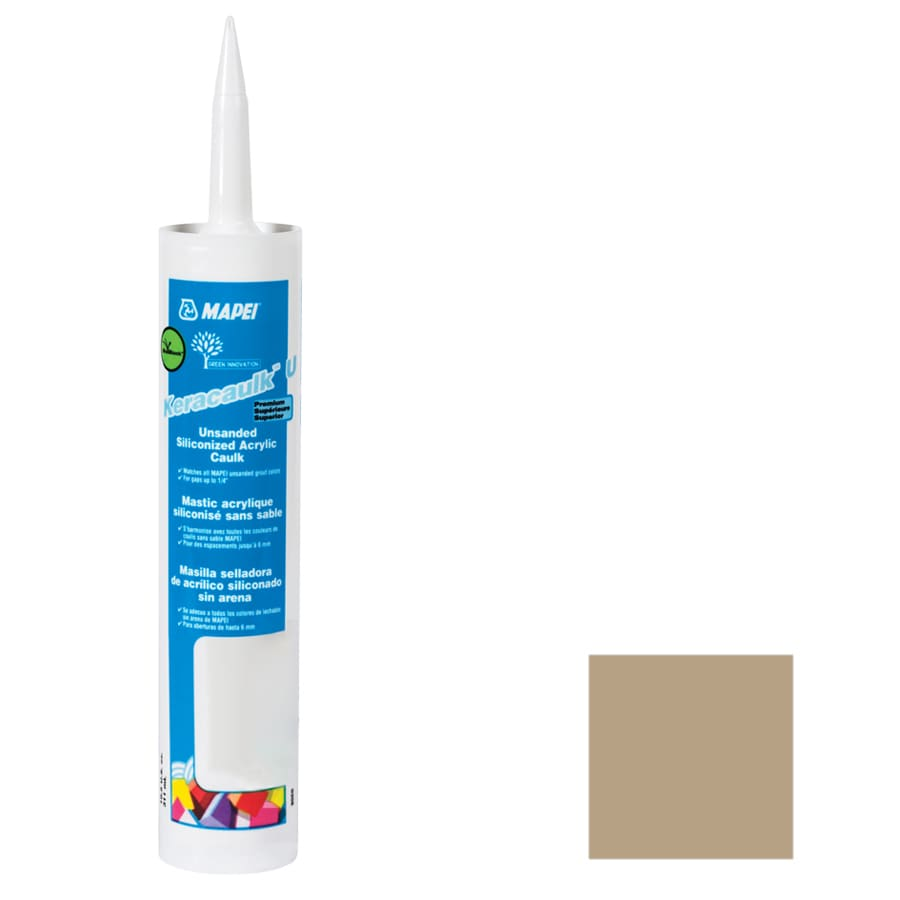 MAPEI Keracaulk U-Pack 10.5-oz Pale Umber  Paintable Caulk