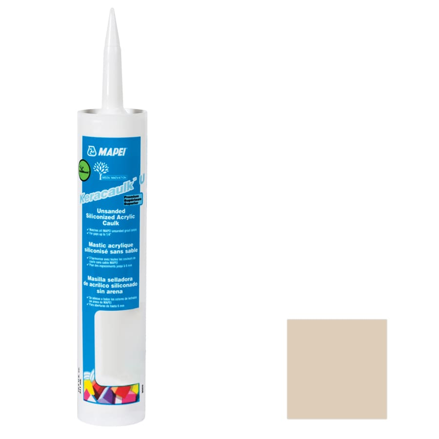 MAPEI Keracaulk U 10.5-oz Light Almond Paintable Specialty Caulk