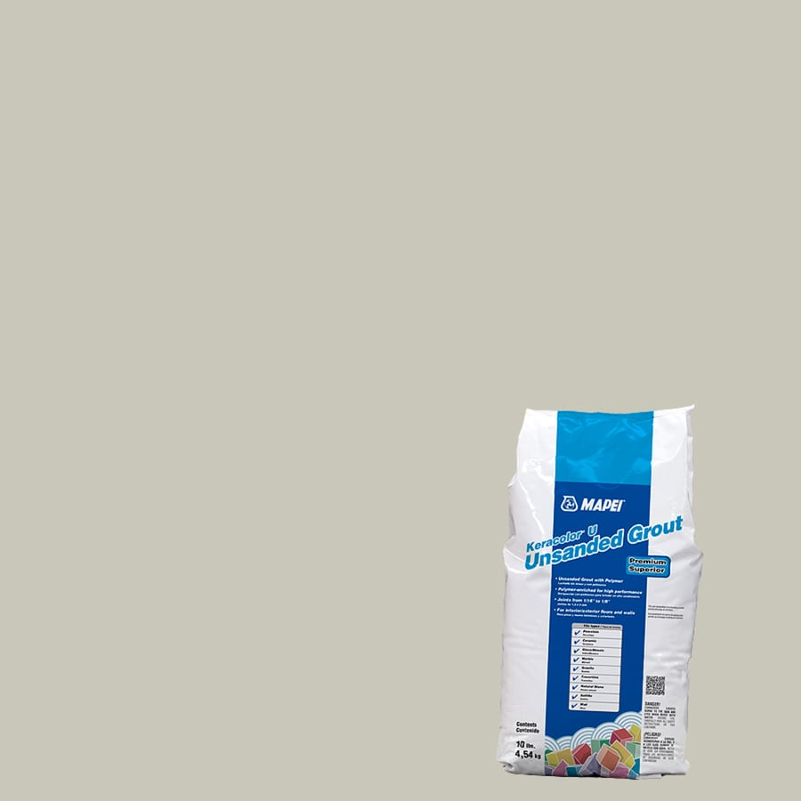 MAPEI 10-lb Alabaster Unsanded Powder Grout