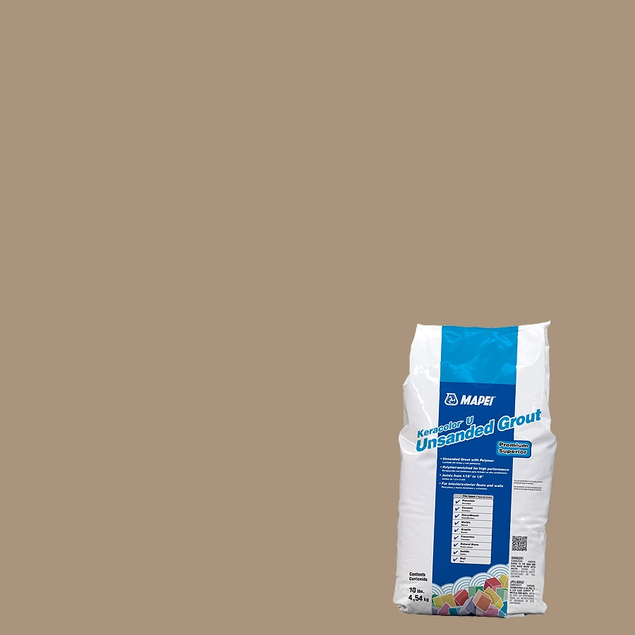 MAPEI 10-lb Chamois Unsanded Powder Grout