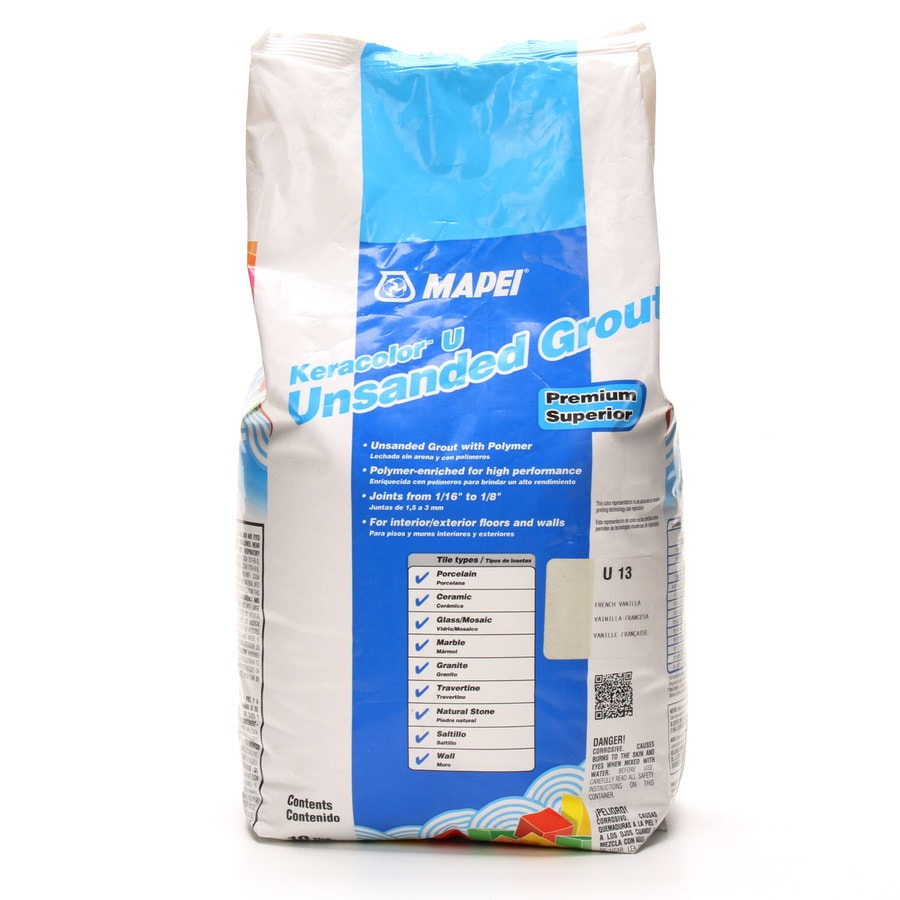 MAPEI Keracolor U 10-lb French Vanilla Unsanded Powder Grout