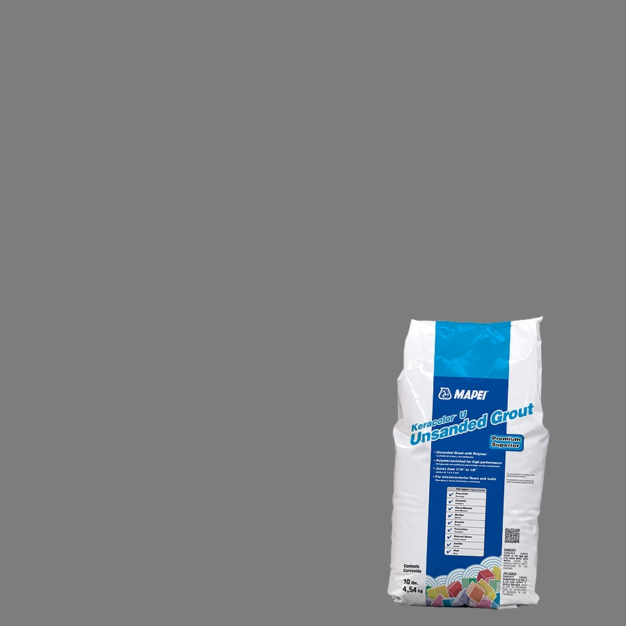 MAPEI 10-lb Pearl Gray Unsanded Powder Grout
