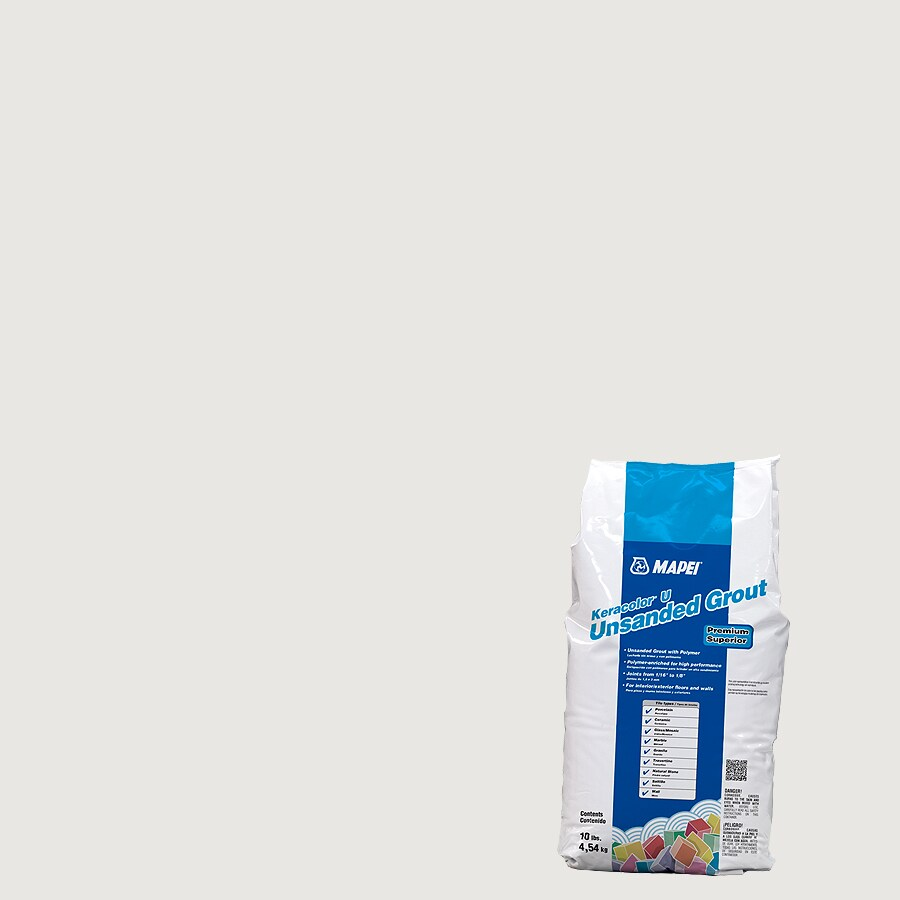 MAPEI Keracolor U 10-lb Avalanche Powder Grout
