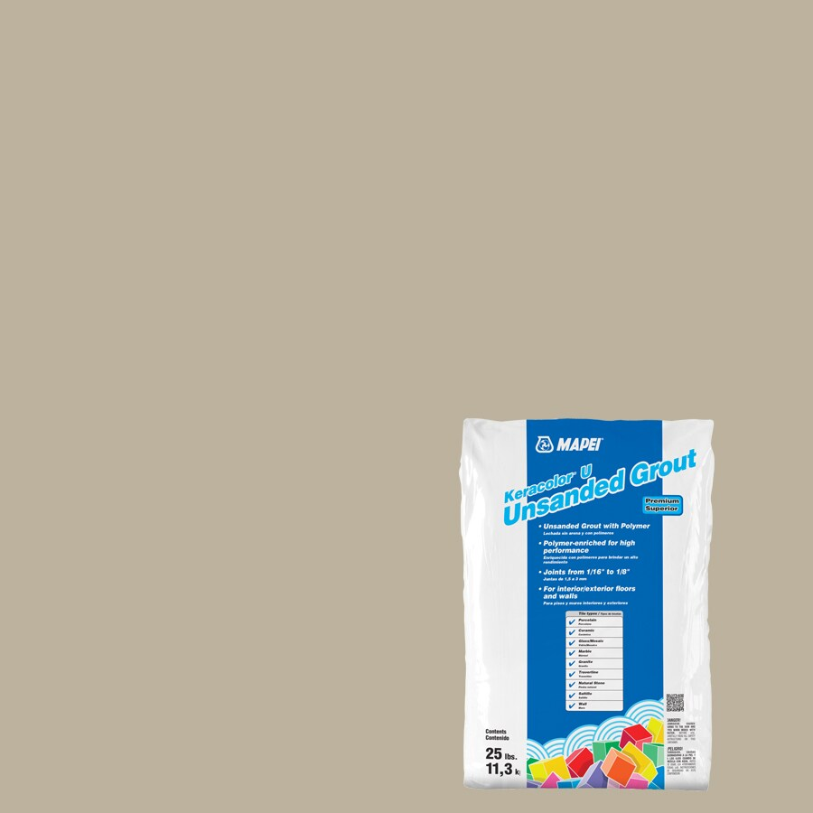MAPEI Keracolor U 25-lb Ivory Powder Grout
