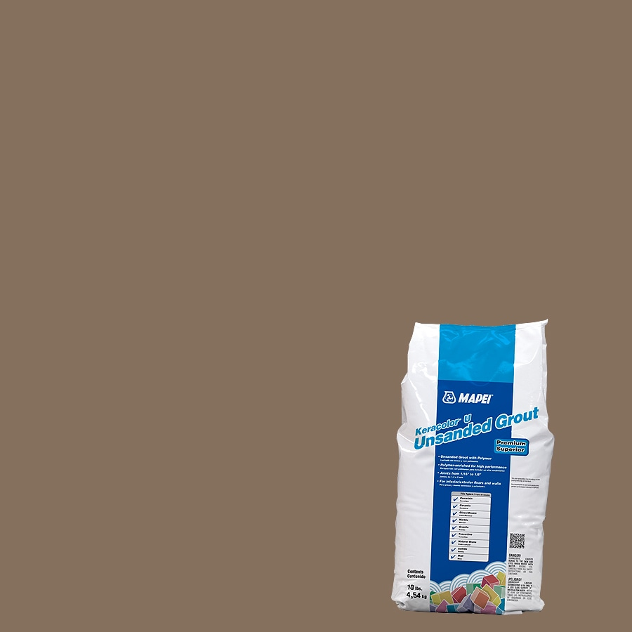 MAPEI Keracolor U 10 Pound(S) Mocha Unsanded Powder Grout