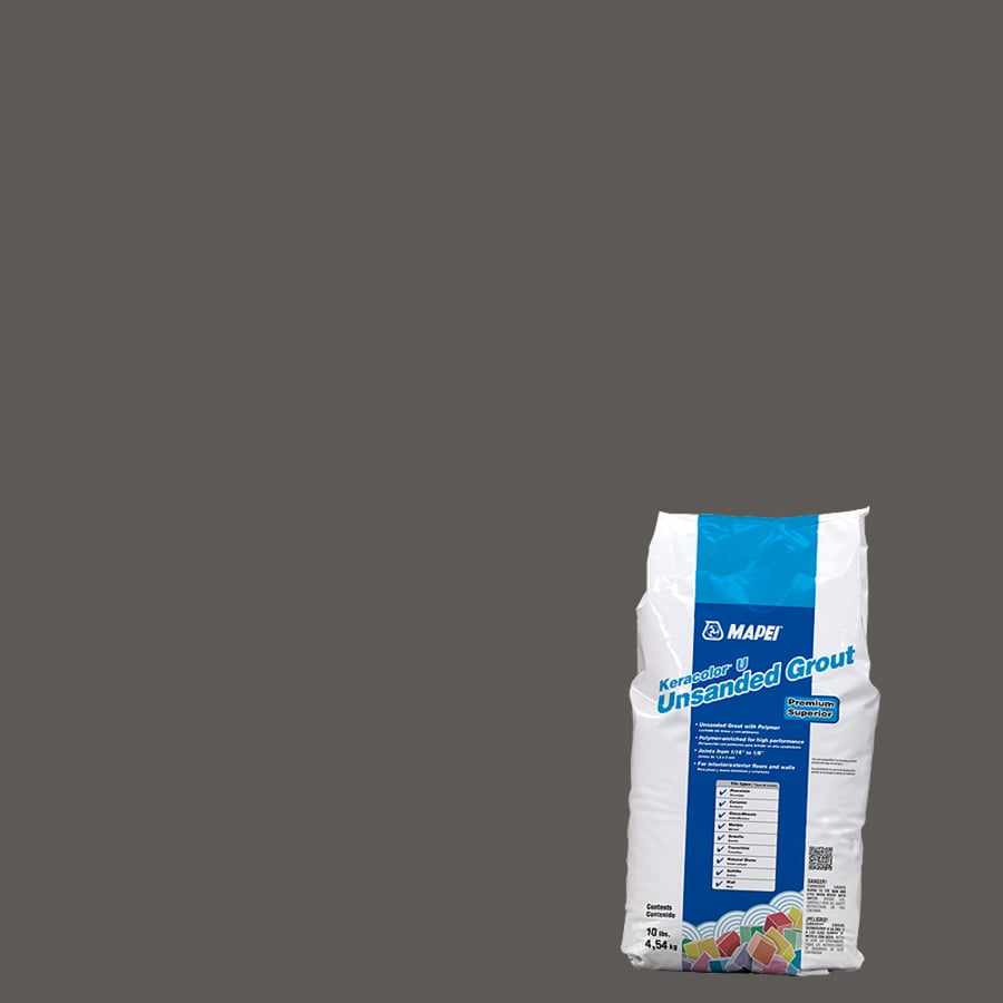 MAPEI 10-lb Charcoal Unsanded Powder Grout