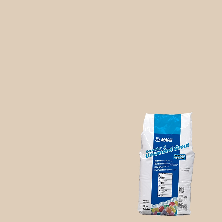 MAPEI 10-lb Light Almond Unsanded Powder Grout