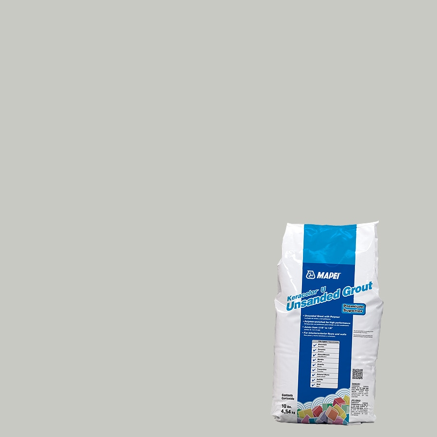 MAPEI 10-lb Warm Gray Unsanded Powder Grout