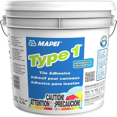 MAPEI Type 1 Ceramic Tile Mastic (1-Gallon) at Lowes com