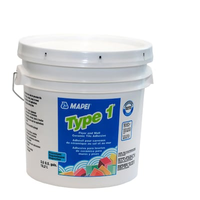 Mapei Type 1 Ceramic Tile Mastic 3 5 Gallon At Lowes