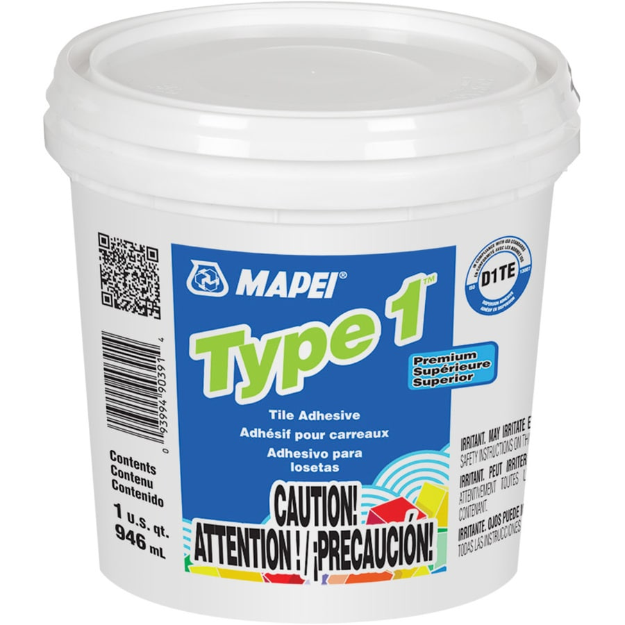 shop mapei type 1 mastic 1 quart at. Black Bedroom Furniture Sets. Home Design Ideas