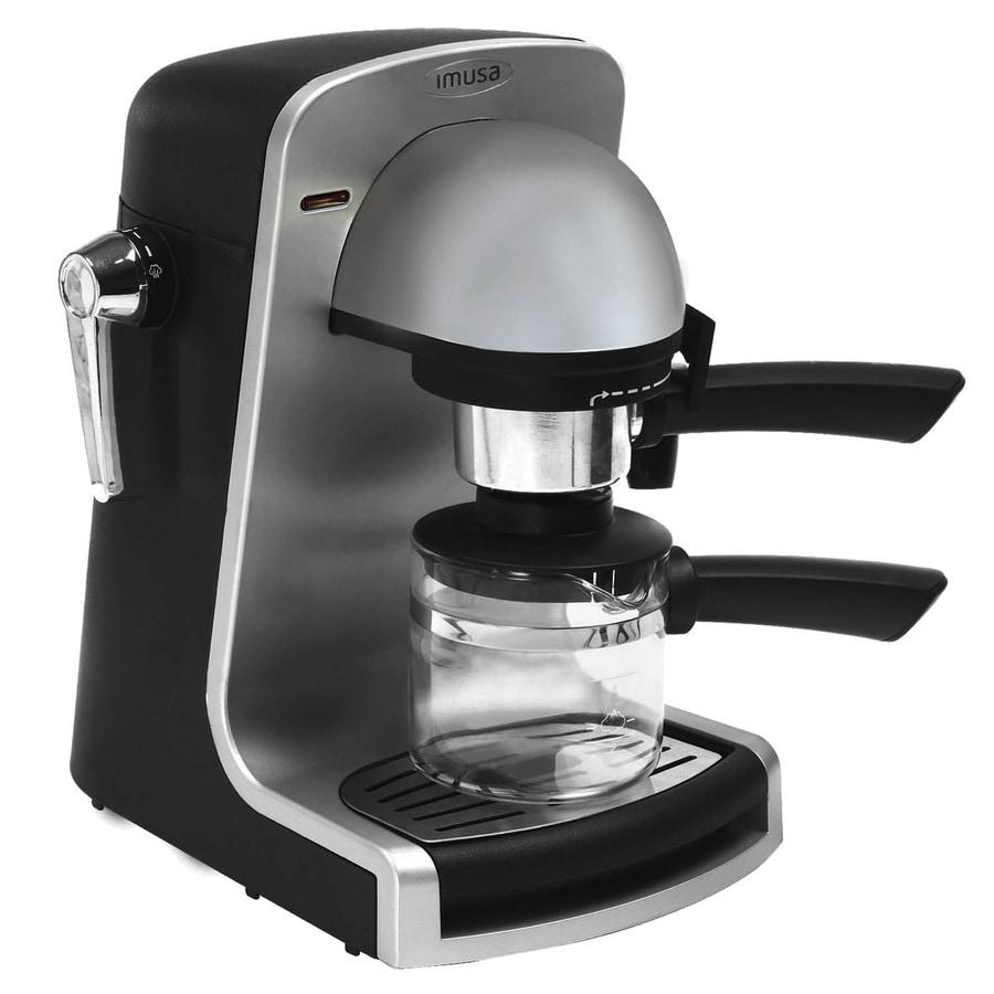 IMUSA Bistro Plastic Automatic Espresso Machine
