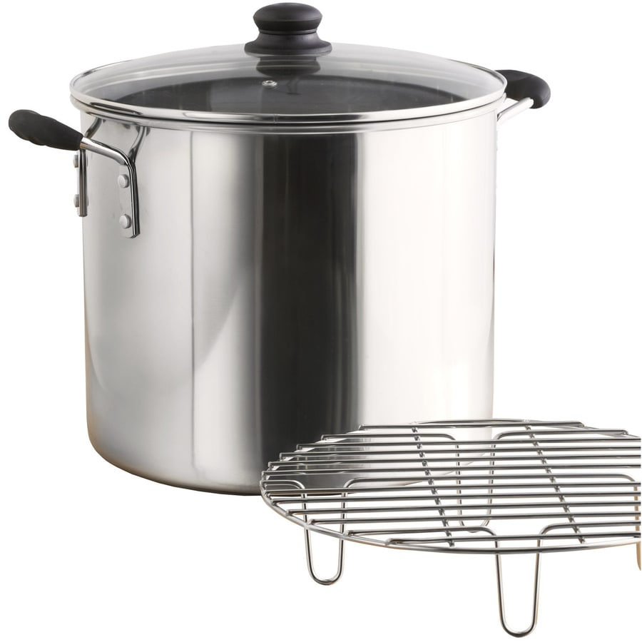 Imusa Global Kitchen 20 Quart Stainless Steel Steamer Pot With Lid