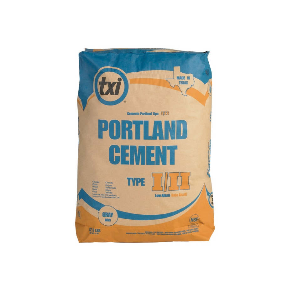 Shop Txi 92 1 2 Lb Bag Type I Ii Portland Cement At Lowes Com