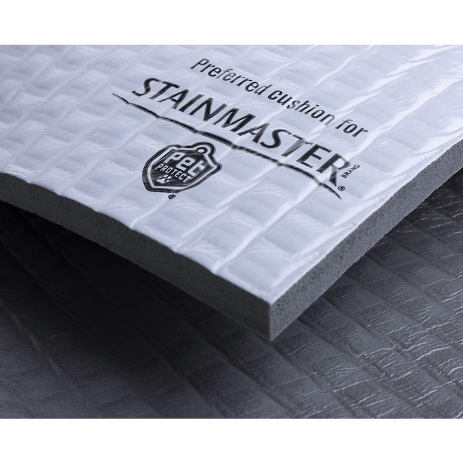 Stainmaster 12 7mm Foam Carpet Padding With Moisture Barrier In The Carpet Padding Department At Lowes Com