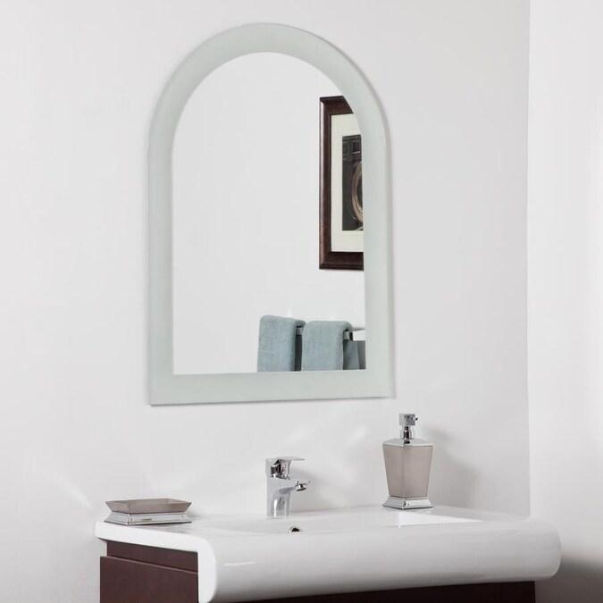 Arch Frameless Bathroom Mirror