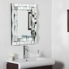 Decor Wonderland 23 6 In Rectangular Frameless Bathroom Mirror Lowes Inventory Checker Brickseek