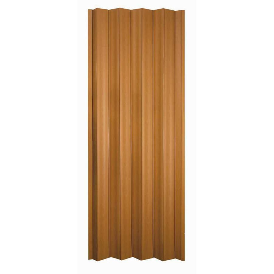Shop Spectrum Via Fruitwood Vinyl Accordion Door With