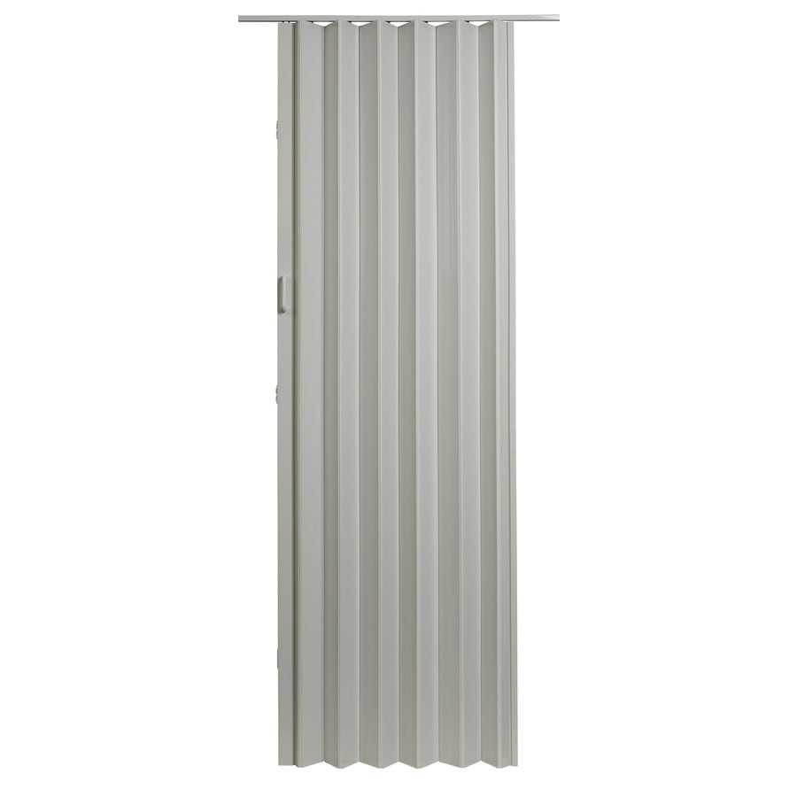 Shop Spectrum Oakmont White Vinyl Accordion Door With