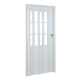 Spectrum Capri White Vinyl Accordion Door with Hardware (Common 32-in X 80  sc 1 st  Lowe\u0027s & Shop Accordion Doors at Lowes.com
