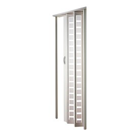 Spectrum Metro Vinyl Accordion Door with Hardware (Common 32-in X 80-  sc 1 st  Lowe\u0027s & Shop Accordion Doors at Lowes.com