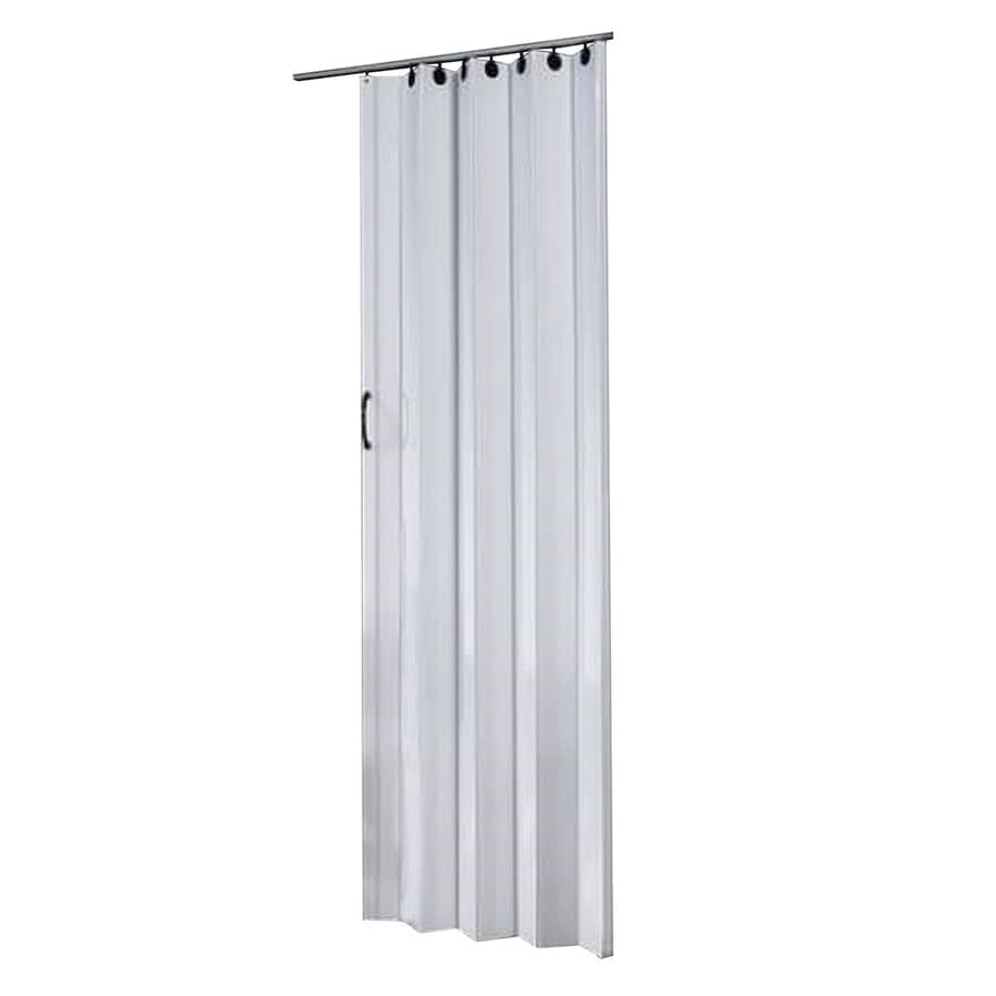 Spectrum Nuevo White 1-Panel Accordion Interior Door (Common: 36-in x 80-in; Actual: 36-in x 80-in)
