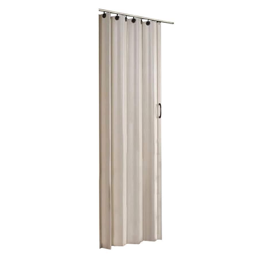 Spectrum Nuevo Brown PVC Accordion Door with Hardware (Common 36-in X 80  sc 1 st  Lowe\u0027s & Shop Spectrum Nuevo Brown PVC Accordion Door with Hardware (Common ...