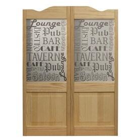 Saloon Doors Lowes Amp Western Style Swinging Saloon Doors