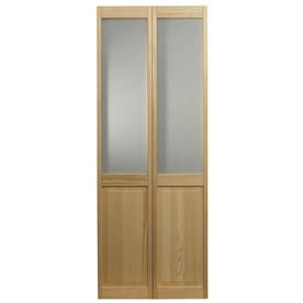 Frosted Glass Bifold Amp Sliding Closet Doors At Lowes Com