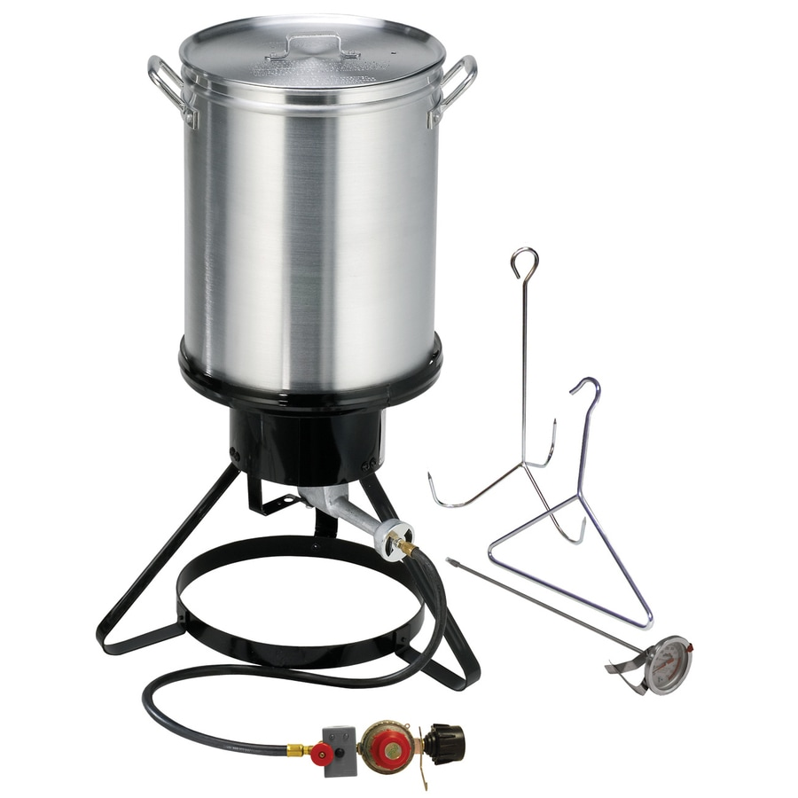 Masterbuilt 30-Quart 20-lb Cylinder Manual Ignition Gas Turkey Fryer